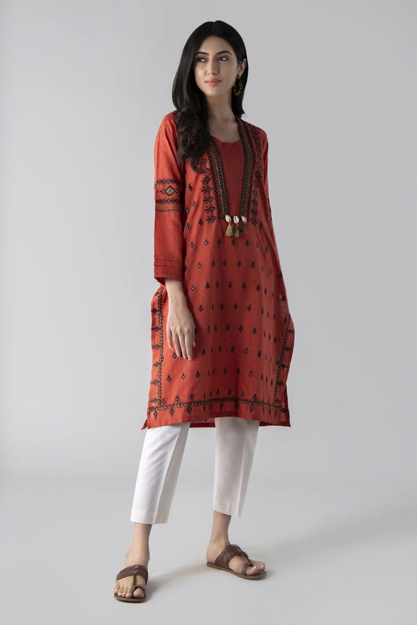 Embroidered Kurta