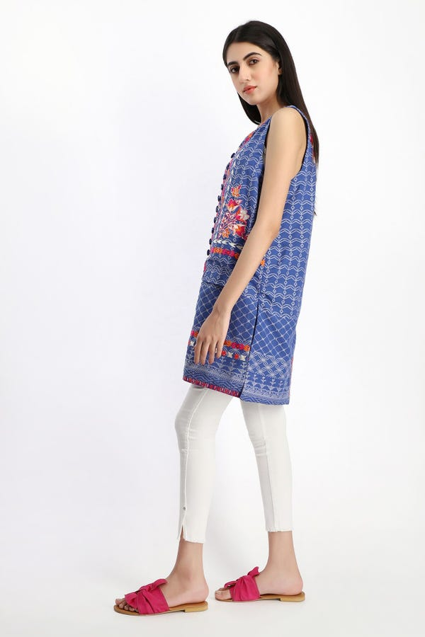 Embroidered Waist Coat